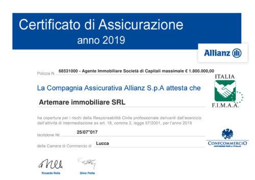 Недвижимость в Италии Сертификат